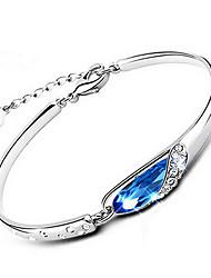 XSJ Women's 925 Silver High Quality Handwork Elegant Bracelet Christmas Gifts