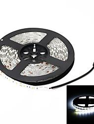 Недорогие -ZDM® 5 метров Гибкие светодиодные ленты 300 светодиоды 5050 SMD 1 Кабели постоянного тока Холодный белый Водонепроницаемый / Подсветка для авто / Самоклеющиеся 12 V 1шт / IP65