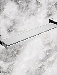 cheap -Bathroom Shelf Contemporary Stainless Steel Glass Stainless Steel