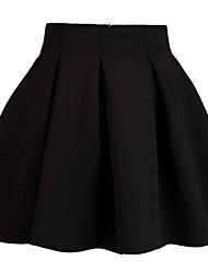 Women's High Waist Puff Pleats Skirt (More Colors)