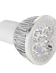 abordables -360 lm GU10 Spot LED 4 diodes électroluminescentes LED Haute Puissance Intensité Réglable Blanc Naturel AC 220-240V
