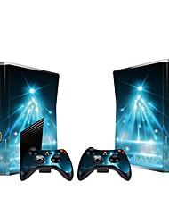 b-skin® console Xbox 360 mince autocollant couvercle autocollant de protection de la peau du contrôleur de la peau