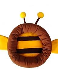 Недорогие -прекрасная форма желтая пчела коричневый цвет гнездо кровать для домашних животных собак кошек (ассорти размеры)
