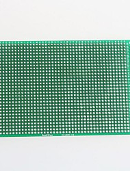 cheap -Double-Sided Glass Fibre PCB Prototype Board for Arduino (8 x 12cm)