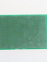 abordables -fibra de vidrio tablero de doble cara PCB prototipo para Arduino (8 x 12 cm)