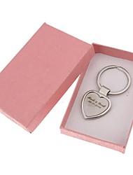keychain favorece favores de casamento de porta-chaves / conjunto de aço inoxidável