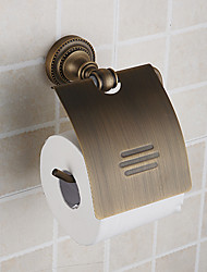 Недорогие -Туалетный бумаги Ходлер, античная латунь отделка латунь материал, вспомогательное оборудование ванной комнаты