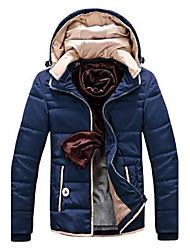 Недорогие -мужская новая конструкция чистый случайный верхняя одежда