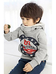 cheap -Galaxy Hoodie & Sweatshirt Winter Spring Fall Long Sleeves Gray
