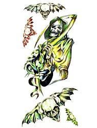 #(1) - Autres - Multicolore - Motif - #(18.5*8.5) - en Papier - Tatouages Autocollants Homme/Girl/Adulte/Adolescent