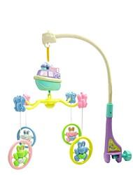Недорогие -б / о электрический музыкальный вращающихся кровать колокол детские игрушки (10шт песен)