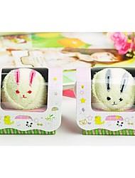tovagliolo creativo regalo di compleanno coniglio fibra forma (colore casuale)