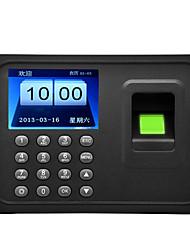 cheap -Danmini A6 2.4 Inch TFT Screen Fingerprint Time Attendance Machine