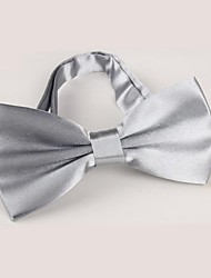 cheap -Unisex Party / Work / Basic Polyester Bow Tie - Solid Colored