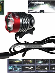 cheap -Headlamps Bike Lights Front Bike Light LED XM-L2 U2 Cycling Impact Resistant Waterproof Other 1000 Lumens USB Camping/Hiking/Caving