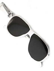 óculos de sol legal pendente apenas preto (1 peça)