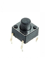 4-pin Tact Switch Tactile Push Button Switch DIY 6x6x5mm (100 pcs)