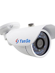 cheap -YanSe® 700TVL 3.6mm Metal aluminum D/N CCTV Camera IR 24 LED security Waterproof Wired 722CC