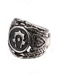 cheap -Fashionable Black Men's Ring
