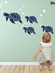 baratos -Abstrato Animais Vida Imóvel Moda Formas Desenho Animado Fantasia Adesivos de Parede Etiquetas de parede de animal Autocolantes de Parede
