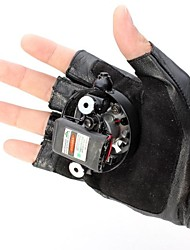 lt-8885 Doppel-Wirbel lila Wirbel Laserhandschuhe (4mw.405nm.built-in Lithium-Ionen-battery.black)