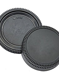Pajiatu® Rear Lens Cover +Camera Body Cap for Nikon D5100 D3100 D7000 D5000 D90 D80 D3 D2H D2X D200 D300 etc.