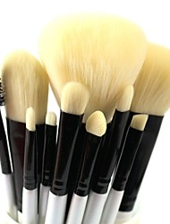 10pcs Makeup Brushes set Professional blush/powder/foundation/concealer brush shadow/eyeliner brush cosmetic brush kit makeup tool
