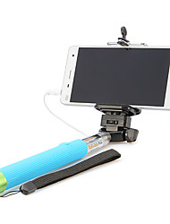bedrade handheld monopod voor selfprotrait selfie sticks mobiele telefoon universele accessoires