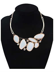 cheap -Women's Beads Statement Necklace - European, Cute White, Green, Dark Gray Necklace For