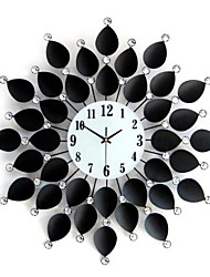 cheap -Modern / Contemporary Metal Round Novelty Indoor,AA Wall Clock