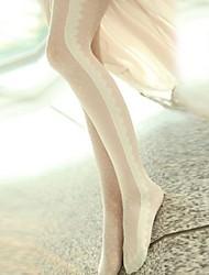 economico -collant in pizzo nuovo di zecca moda donna, filati in velluto / anima