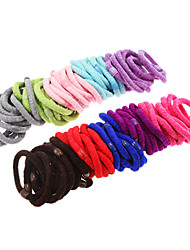 cheap -100pcs Multicolor Fluffy Hair Bands Cosmetic Beauty Care Makeup for Face 100pcs multicolor fluffy hair bands