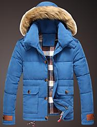 Недорогие -riqi мужская новая осень зима пальто хлопка s919