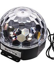 Недорогие -LT-906876 Цифровой RGB светодиодный кристалл магический шар лазерный проектор (240v.1xlaser проектор)