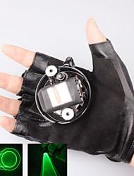 л-532 перчатка зеленая лазерная указка (5 мВт, 532, 1xlithium батареи, черный)