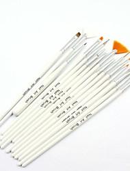Недорогие -15pcs ногтей гелевая ручка художественная роспись кистью комплекты ногтей УФ кисть