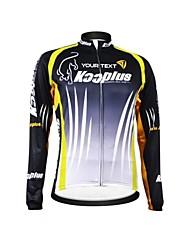 economico -Kooplus Per uomo Per donna Unisex Manica lunga Maglia da ciclismo Bicicletta Maglietta/Maglia Colore 6 # Colore 7 # Colore 8 # Colore 9 #