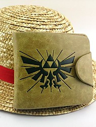 Borsa Ispirato da The Legend of Zelda Cosplay Anime/Videogiochi Accessori Cosplay Borsa Giallo Vernice / Cuoio Uomo