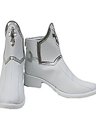 cheap -Cosplay Boots Sword Art Online Asuna Yuuki Anime Cosplay Shoes PU Leather Men's / Women's Halloween Costumes