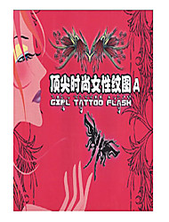 abordables -Top Fashional Tattoo Pattern Book For Women