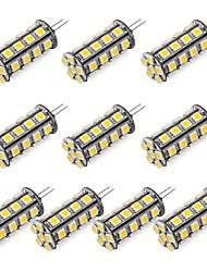 Недорогие -1шт 352 lm G4 Двухштырьковые LED лампы 30 Светодиодные бусины SMD 5050 Тёплый белый / Холодный белый 12 V / RoHs