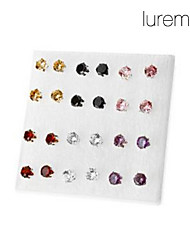 cheap -Stud Earrings Simulated Diamond Alloy Fashion Jewelry Party Daily