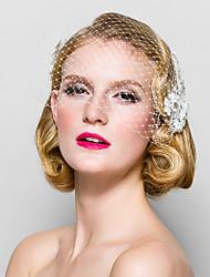 cheap -Women's Fabric Headpiece-Wedding Special Occasion Birdcage Veils