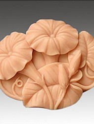 cheap -Morning Glory Flower Shaped Fondant Cake Chocolate Silicone Mold