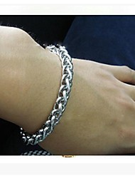 20CM European Titanium Steel Keel  Chain & Link Bracelets (1 Pc)