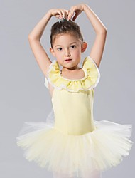 cheap -Kids' Dancewear Dresses&Skirts Tutus Spandex Tulle Sleeveless