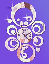 cheap -Modern/Contemporary Acrylic Novelty Indoor,AA Wall Clock