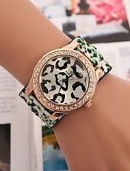cheap -Women's Quartz Wrist Watch Hot Sale Leather Band Charm Fashion Red Green Purple Yellow