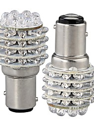 baratos -2pcs BA15S (1156) Carro Lâmpadas LED Dip 45 Lâmpada de Seta