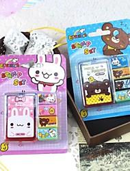 Недорогие -4шт DIY штамп себя красочный резиновый художественного ремесла этикетки индексы& марки нового ребенка марок игрушки